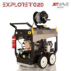 JetWave Explorer G2D (3000-15) High Pressure Water Cleaner
