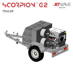 JetWave Senator G2 Trailer High Pressure Water Washer