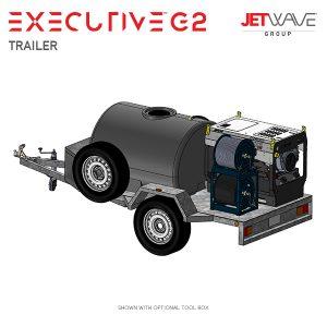 JetWave Executive G2 Trailer High Pressure Cleaner