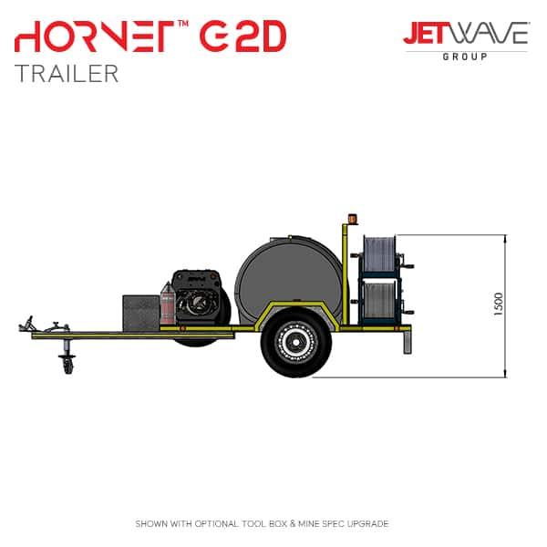 Hornet G2D Trailer minedim#2