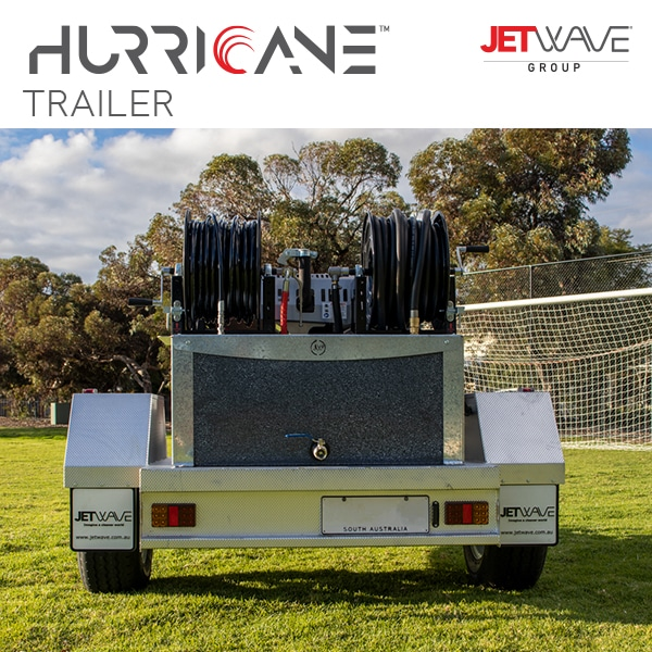 Hurricane Trailer Very back