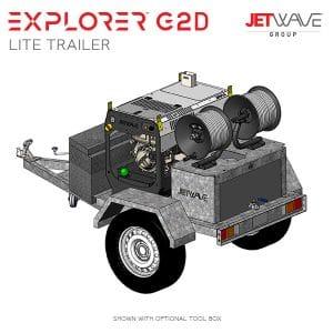Explorer G2D Lite Trailer Setup