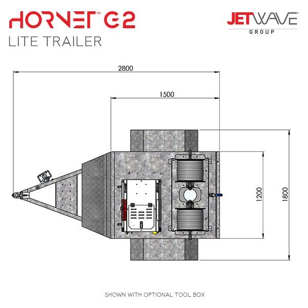 Hornet G2 Lite Trailer Dims#2