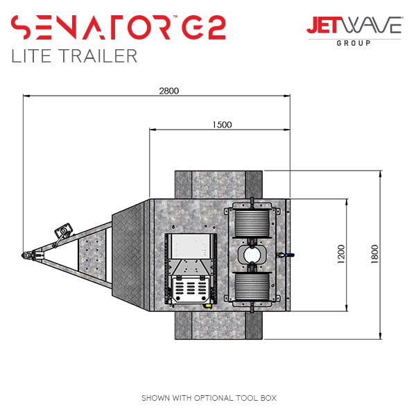 Senator G2 Lite Trailer Dims#1