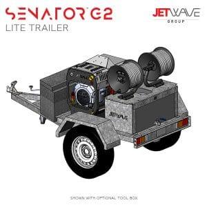 Senator G2 Lite Trailer Setup